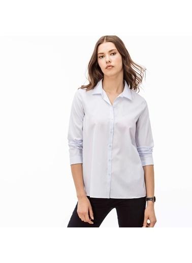 Lacoste Kadın  Gömlek CF3917.T01 Mavi
